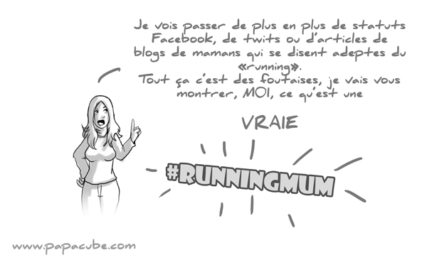 image drole running