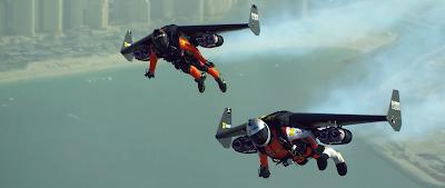 ¿Acaso ha llegado la era del hombre volador?