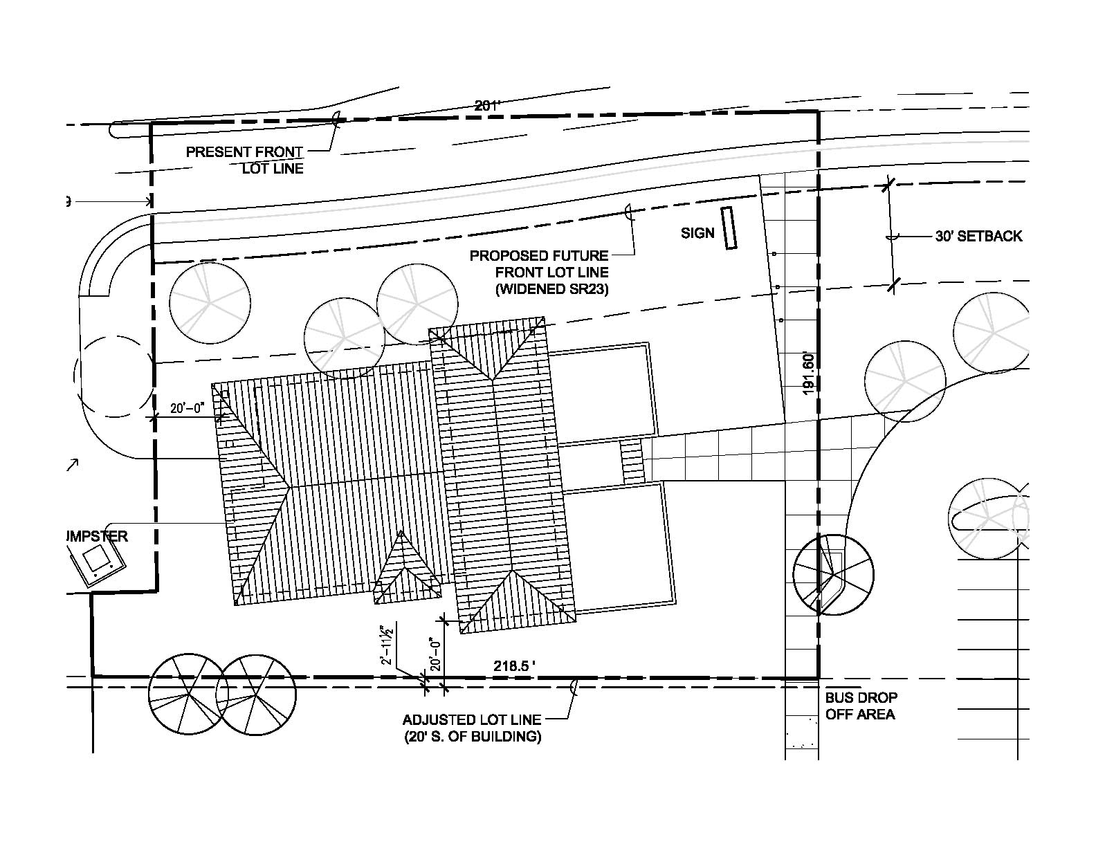 Preparing your site for construction for House site plan