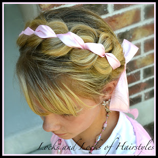 Braided Ribbon Headband