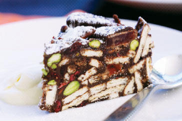 Turkish Delight & Chocolate Fridge Cake Recipe