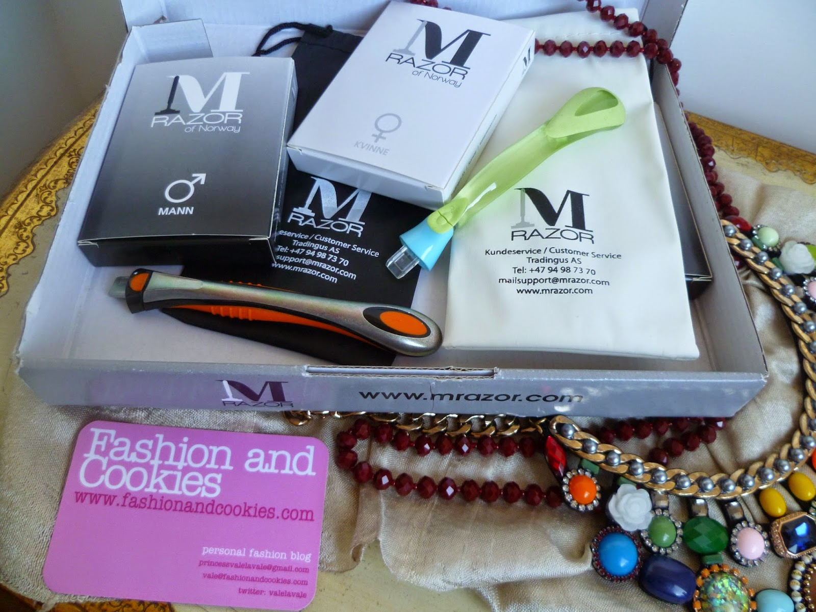 Mrazor of Norway review, affordable razors, Fashion and Cookies, fashion blogger
