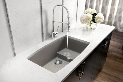 modern kitchen sink design - one pool