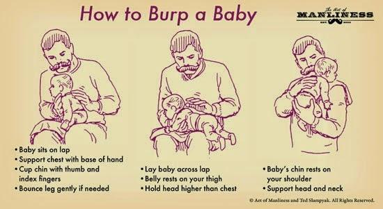 4 cara sendawakan bayi untuk elak tersedak susu