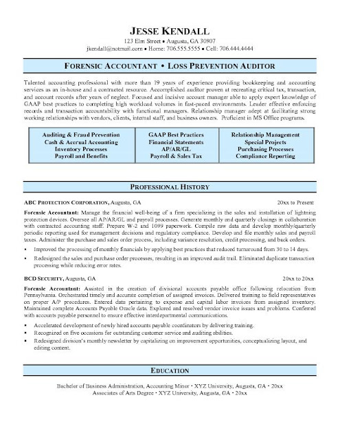 Resume Sample 17 - Human Resources Executive resume.