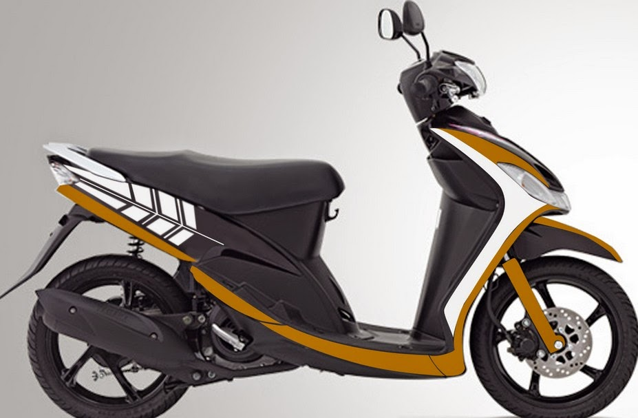 modifikasi motor mio sporty 2009  tahun ini