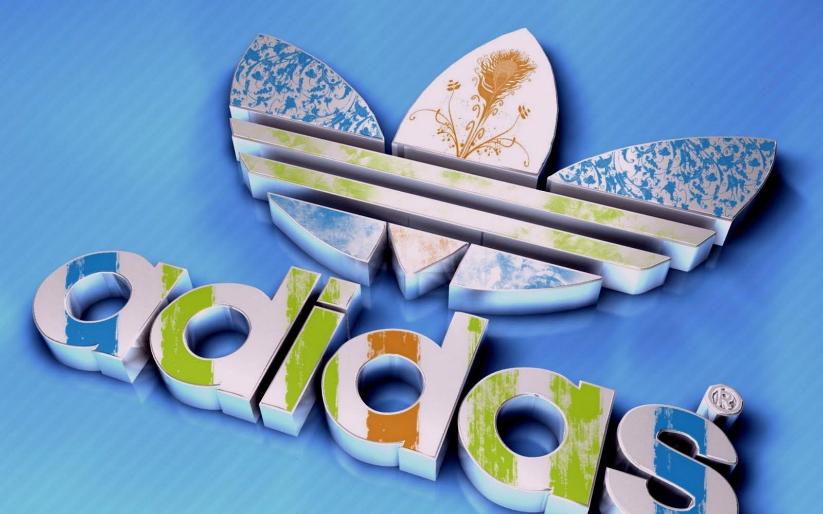 D Adidas Logo