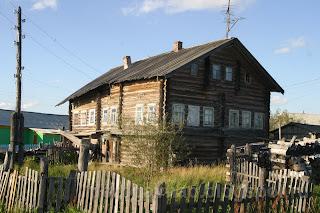 Самый старый дом в деревне Андег, НАО