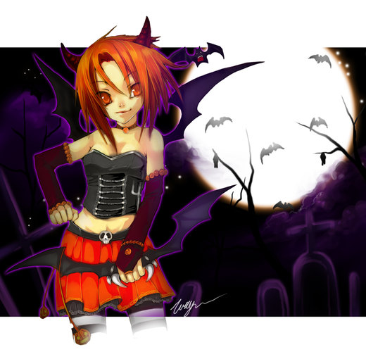 Roliana Halloween por tooaya