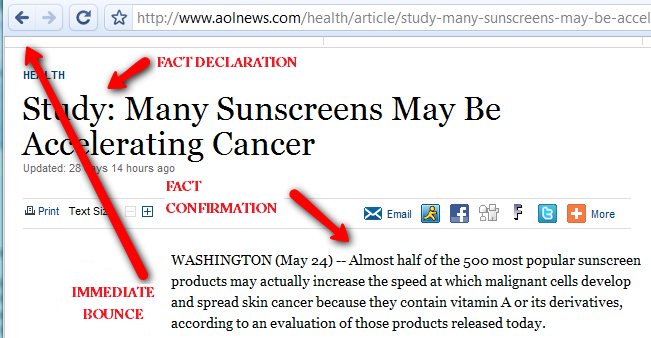 The #1 Worst: Avoid Sunscreen at All Costs