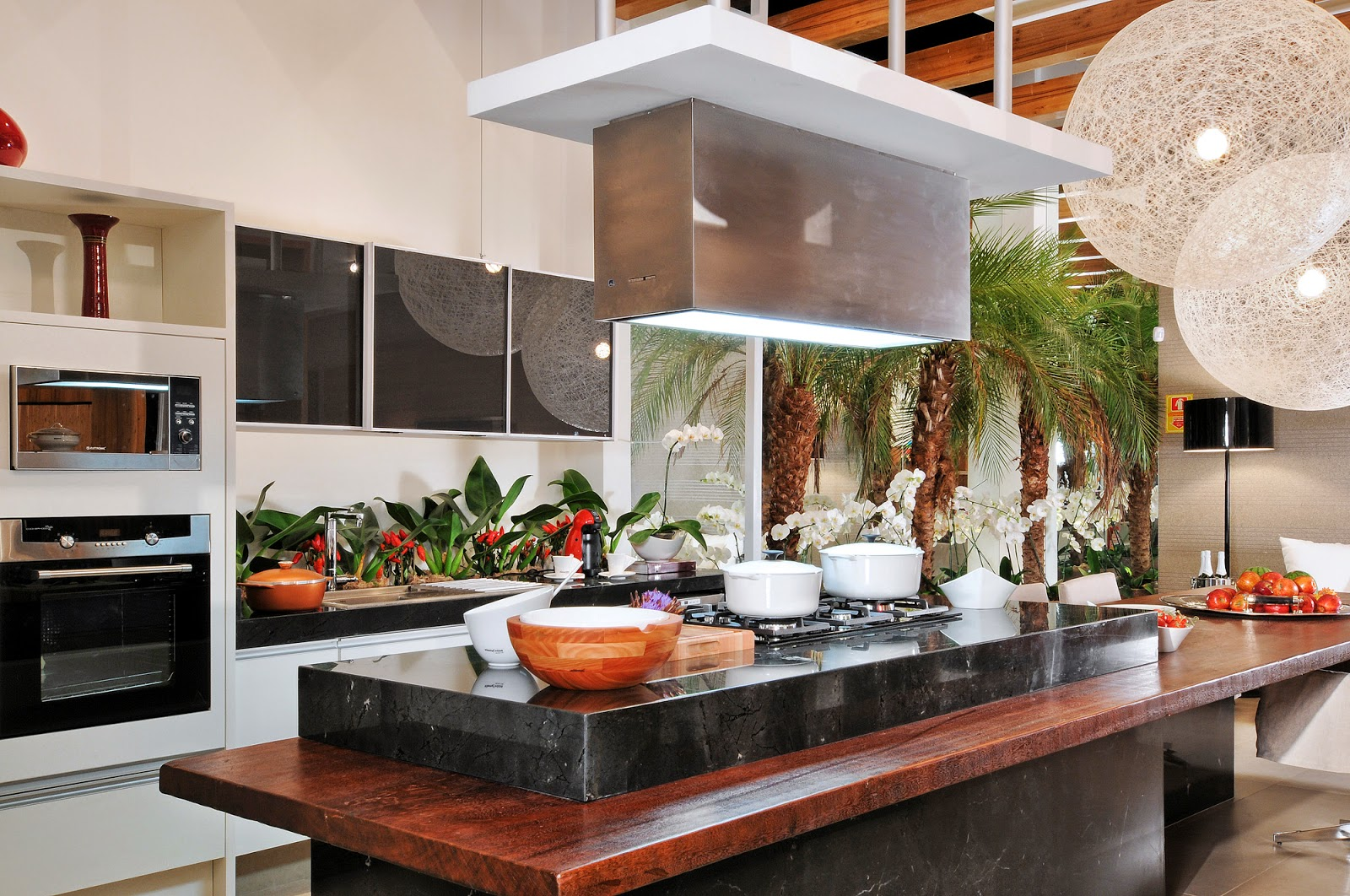 20 Cozinhas Modernas e Sofisticadas – Inspire se! Decor Salteado  #B03A1B 1600 1062