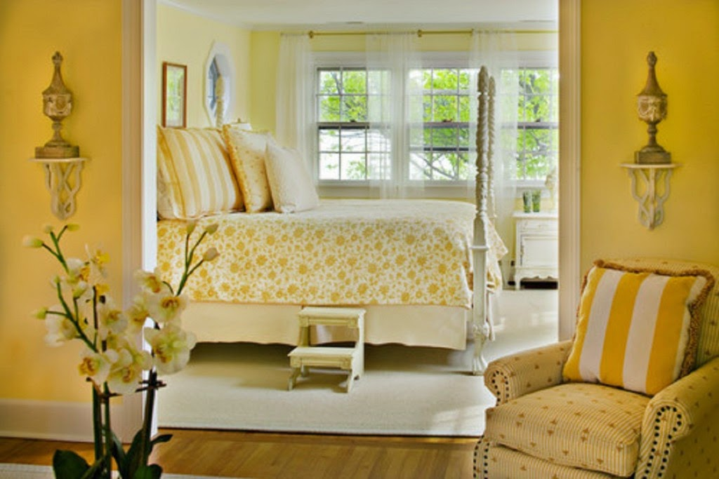 Paint Colors for Small Bedrooms Yellow ideas