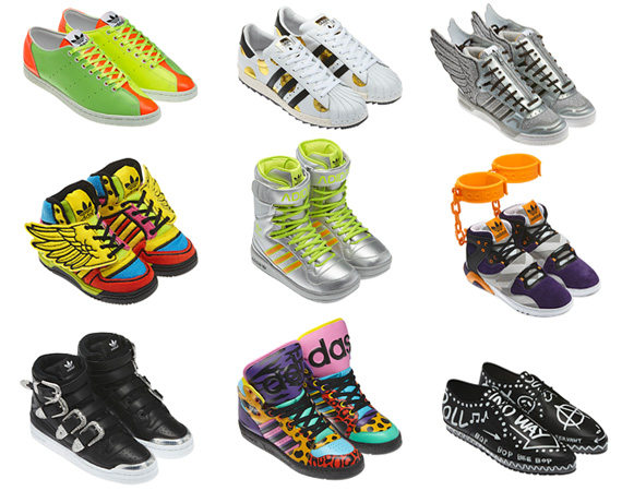 Adidas Originals x Jeremy Scott, Autunno-Inverno 2012