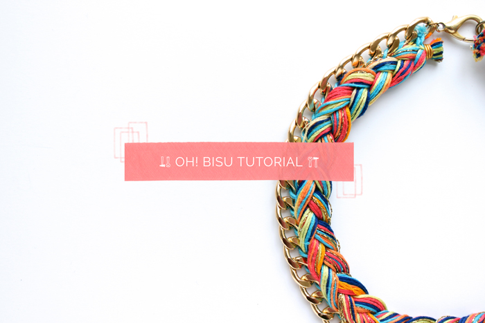 oh macedonia: Tutorial collar trenzado