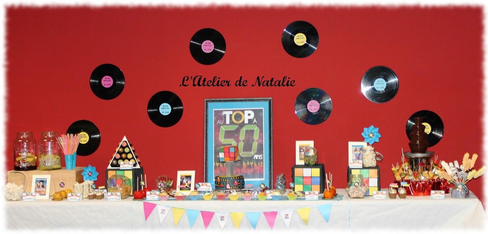 L 39 atelier de natalie for Decoration maison annees 80