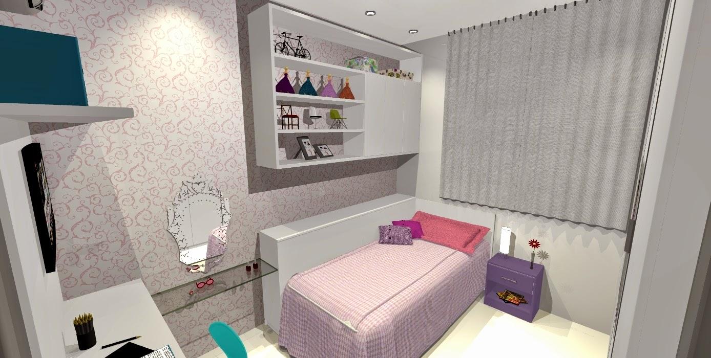 quarto de menina planejado