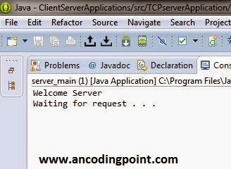 Client /Server Application in Java