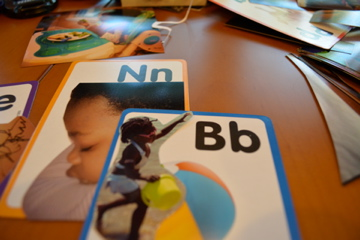 personalized flash cards tutorial using instagram photos