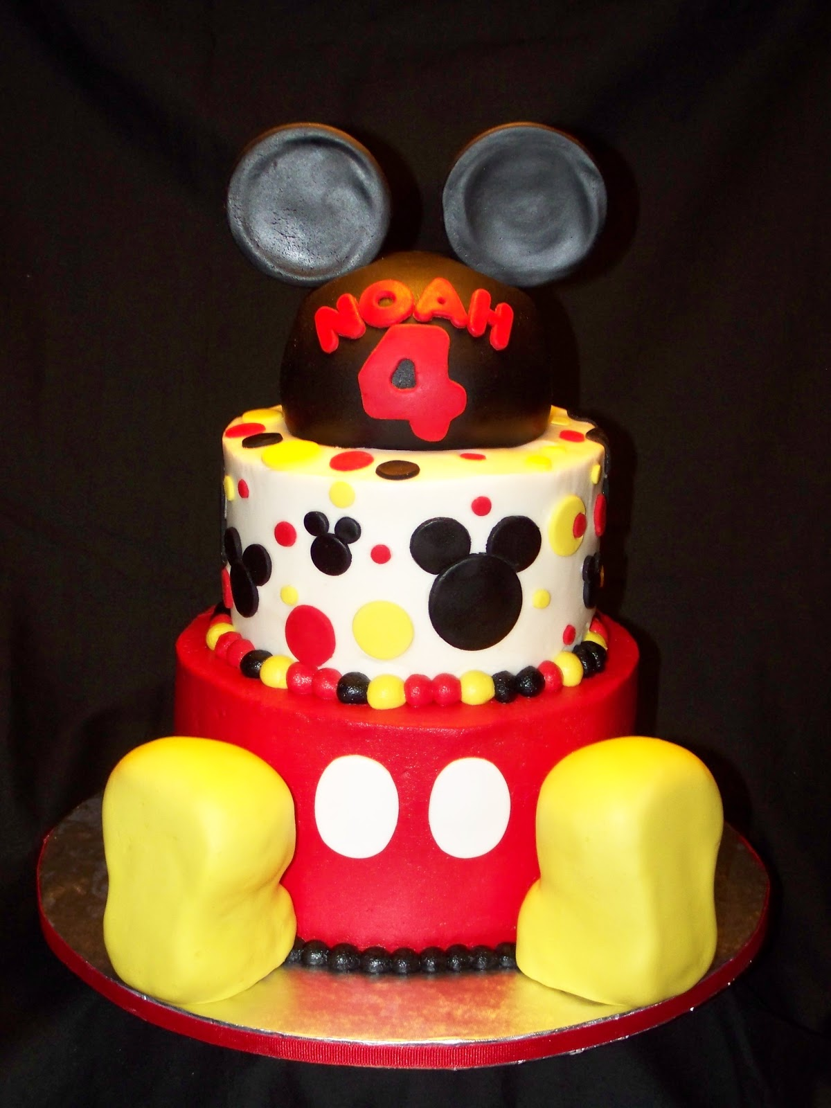 Cakes By Kristen H Mickey Mouse Cake