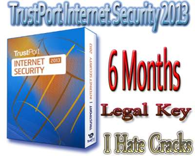 Trust Port Internet Security 2013 Key License Code Free