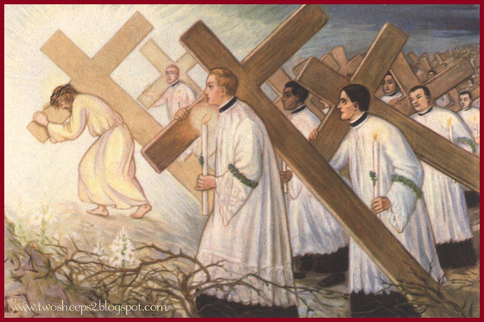 The catholic jedi academy pray pray for prieststan hates them satan hates them buycottarizona