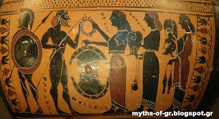 Trojan war in greek mythology