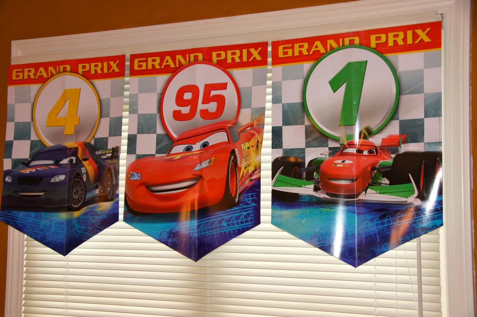 Months Until Disney World- Cars Themed Dinner