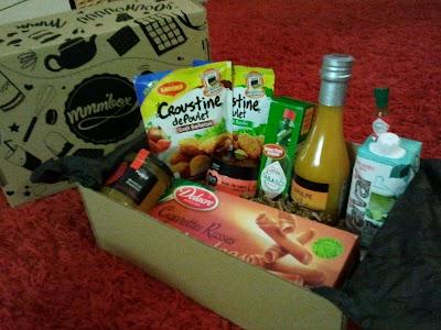 Ma première Mmmbox de septembre: La food box des gourmands !