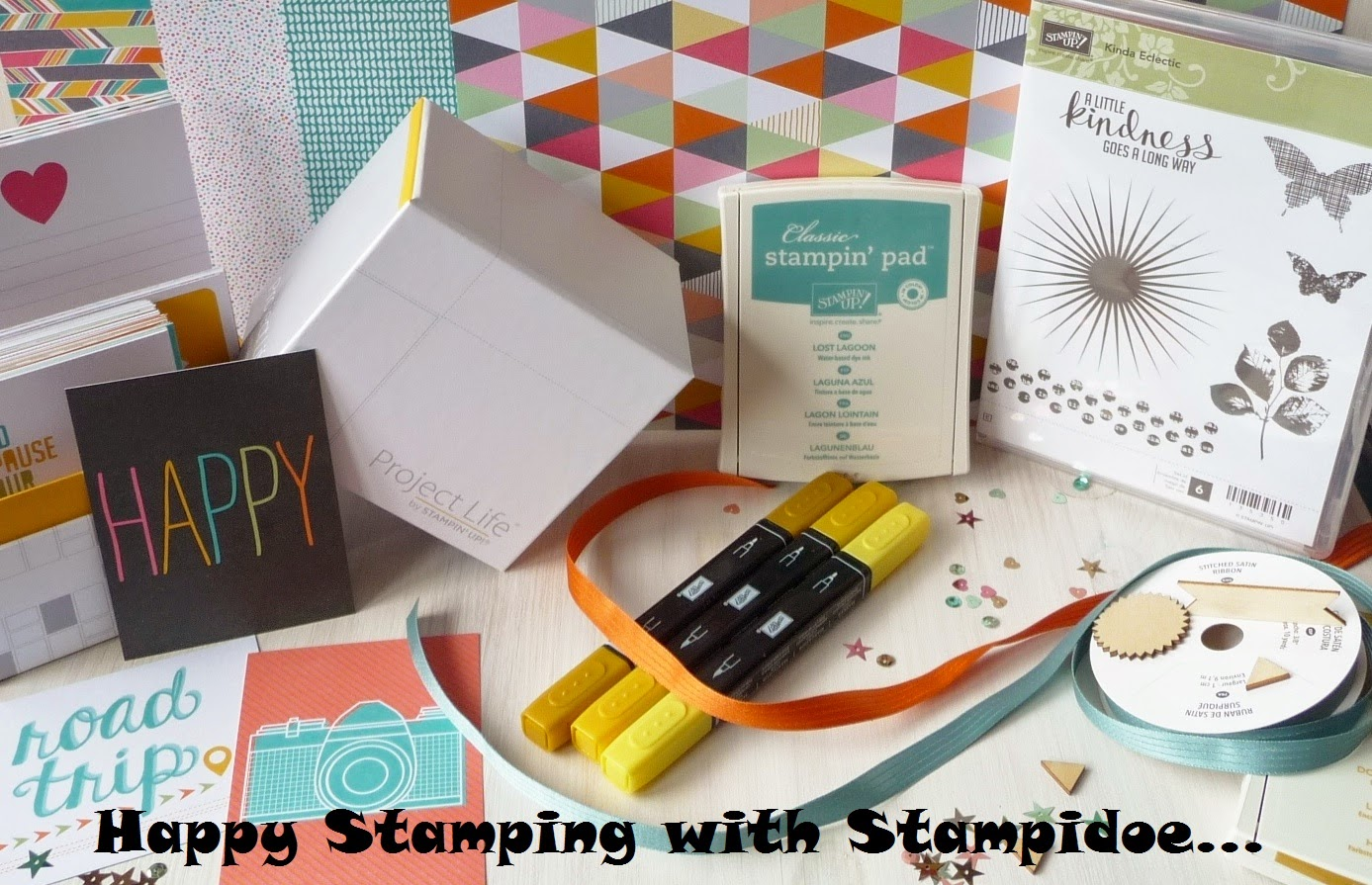 Happy Stamping with Stampidoe