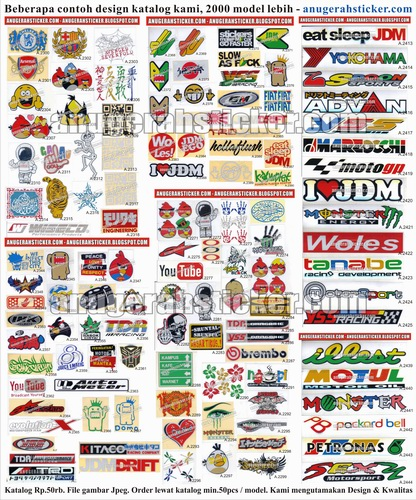 katalog stiker