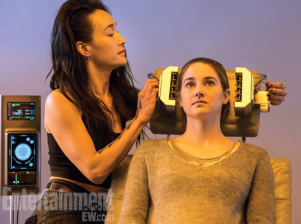 New Stills and Behind the Scene Video of Divergent Movie ...
