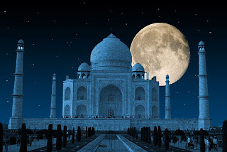 TAJMAHAL IS IN SEVEN WONDER OF THE WORLD IN AGRA