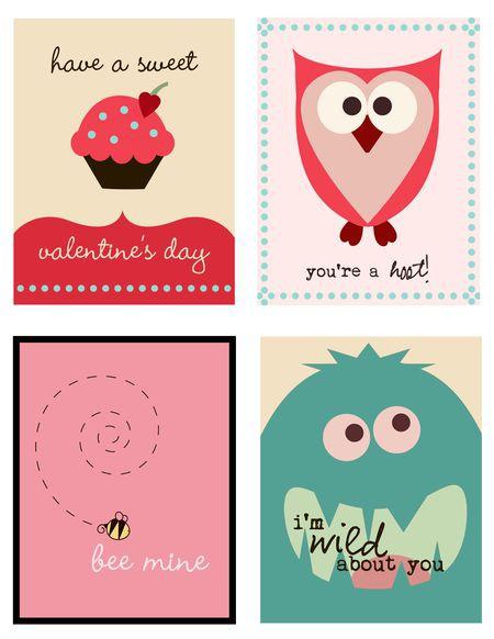 Doc428445 Free Valentines Cards Printable Free Printable – Free Valentine Card to Print