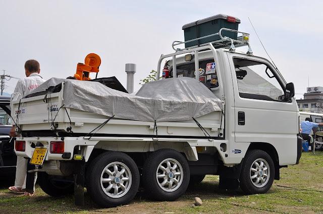 Honda Acty Crawler, sześciokołowe ciężarówki