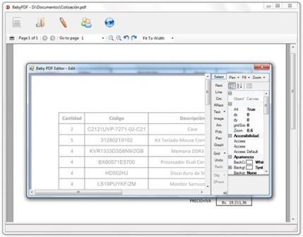 Programa para ver y editar archivos PDF