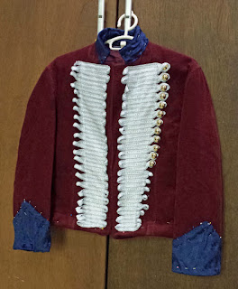 Captain John Hart jacket in pins.