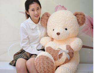 Boneka beruang love 20