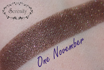 Notoriously Morbid One November Swatch