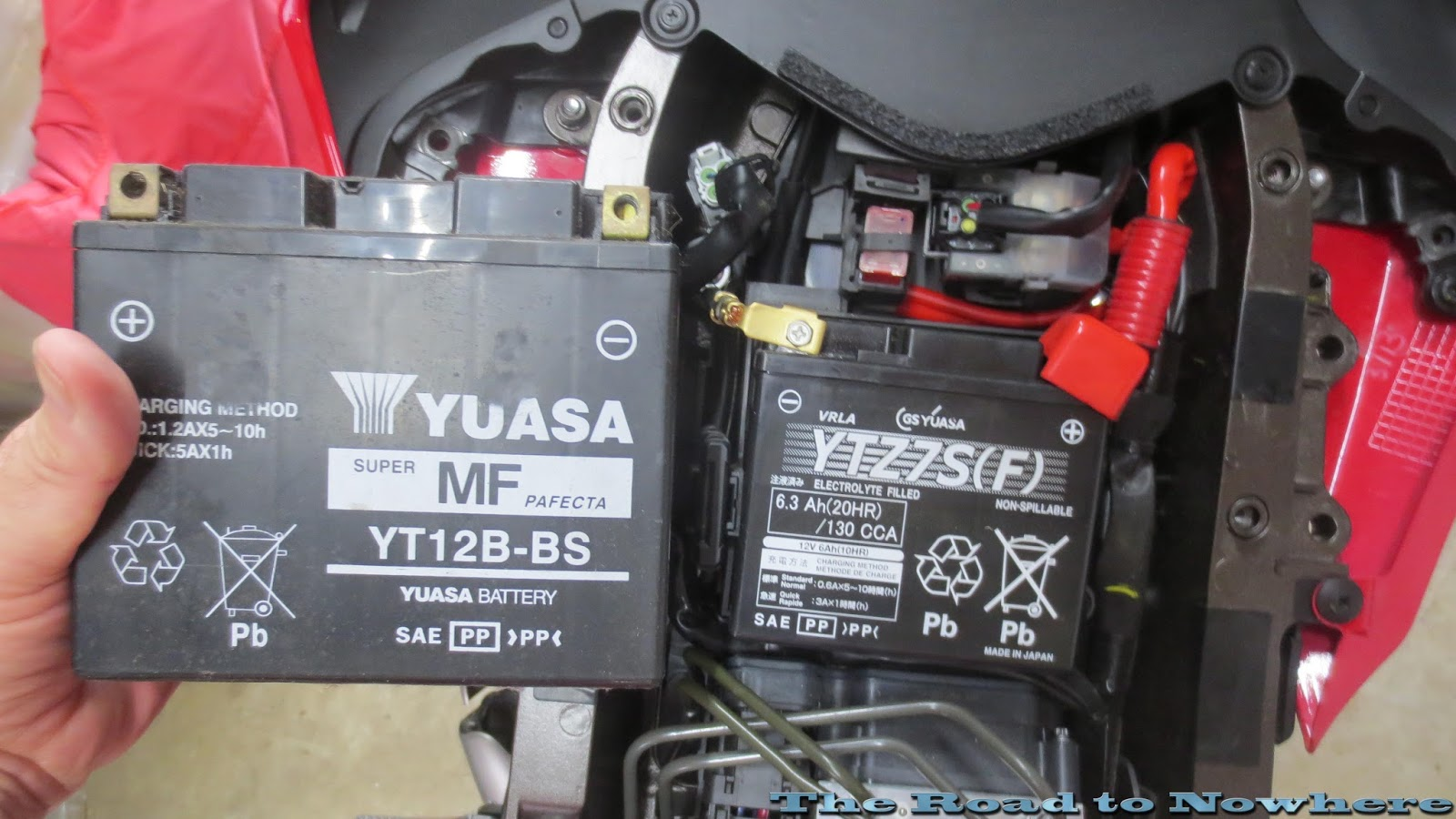 2009 Yamaha R1 Fuse Box Location : Road to nowhere r battery