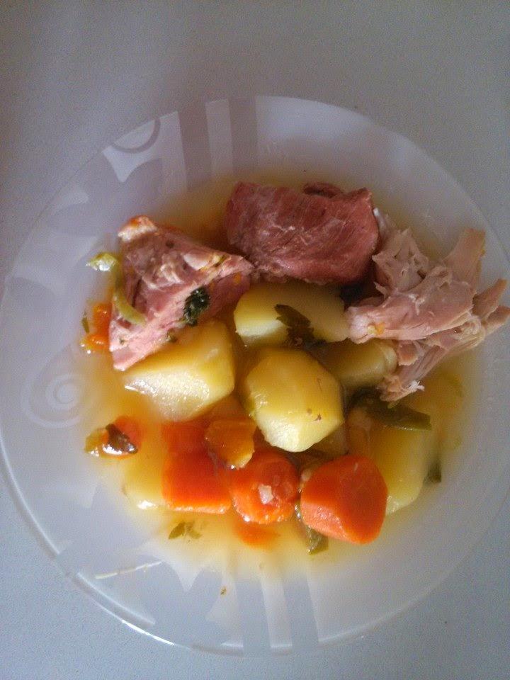 cocido , Fondón (Almeria)