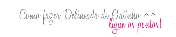 Delineado de Gatinho - Ligue os Pontos.