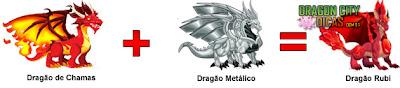 Cruzamento - Dragão Rubi