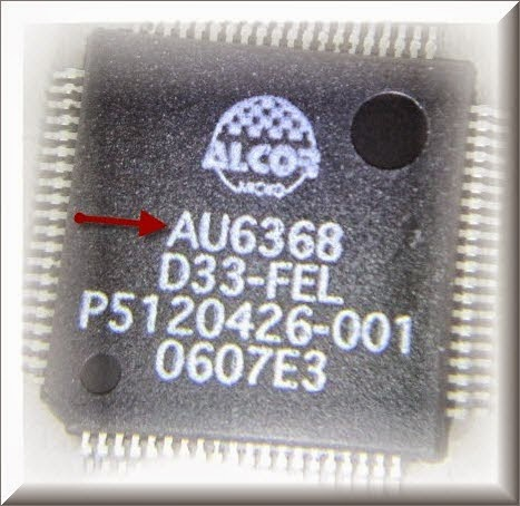 Alcor flashboot firmware update software