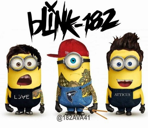 Banda Minion's Blink-182