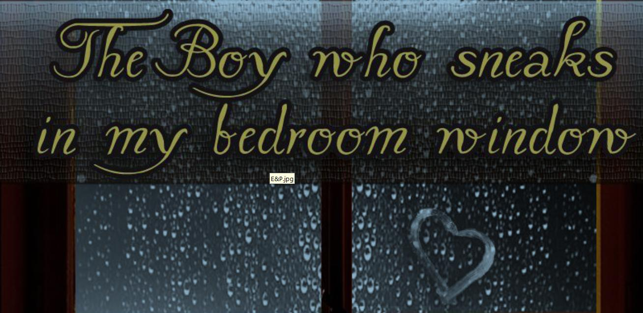 Los Libros De Kayla The Boy Who Sneaks In My Bedroom Window Kirsty Moseley