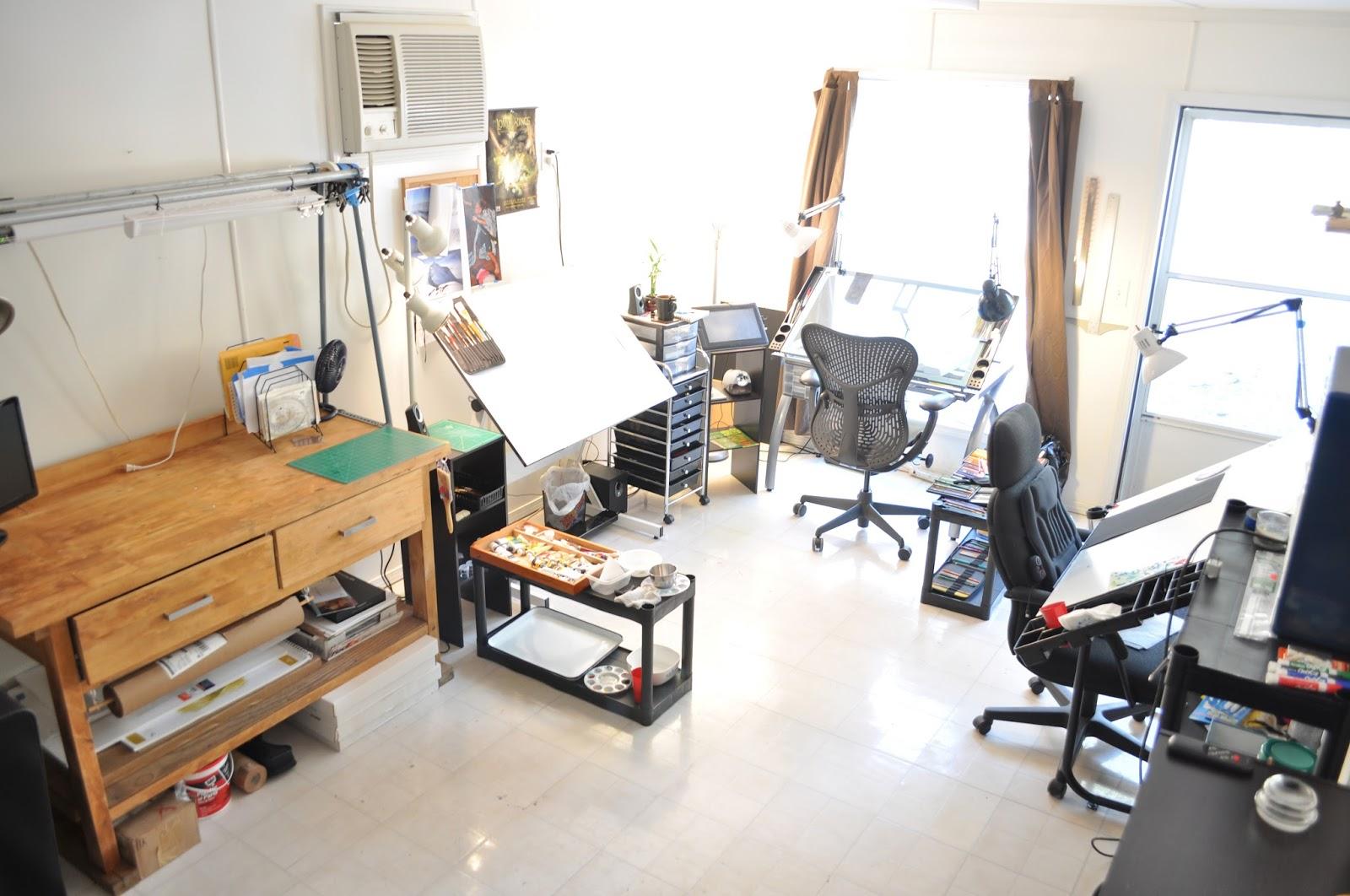 Home Art Studio Muddy Colors Art Studios I Need Your Input