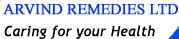 Arvind Remedies Limited