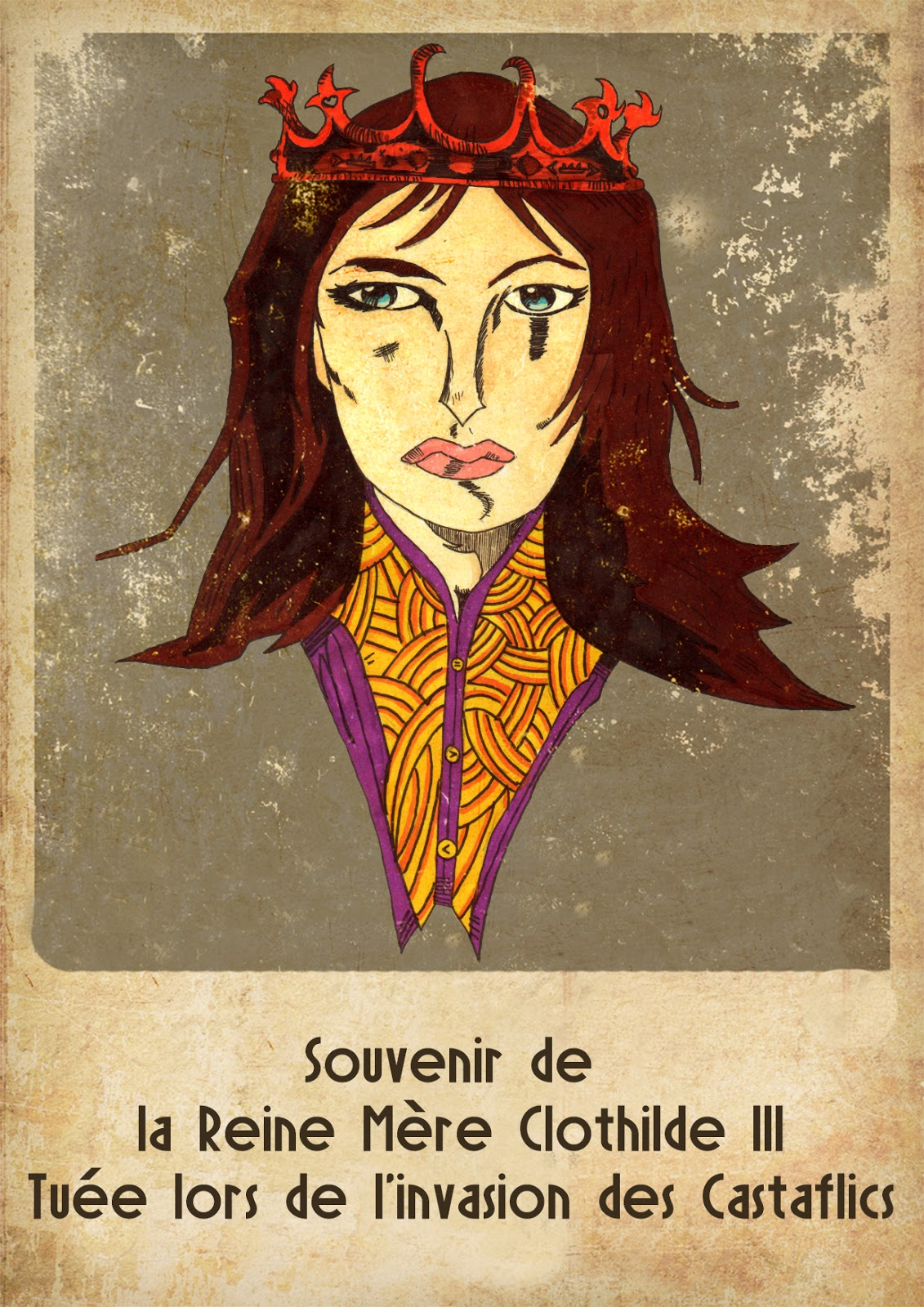 Affiches de propagandes de Neo-Versailles par The Terror Geek Neoreine