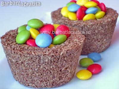 Ciocolata cu nuca de cocos reteta