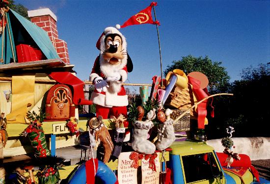 Natal Disney - Animal Kingdom Jingle Parade